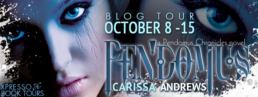 Blog Tour- Pendomus by Carissa Andrews {Review + Giveaway}