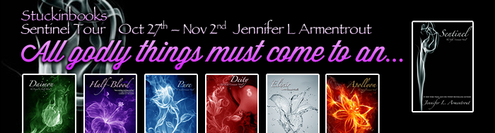 Sentinel Blog Tour- Pure by Jennifer L. Armentrout Mini Review+Spotlight+Giveaway