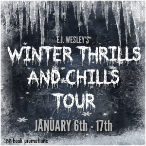 Blog Tour~ EJ Wesley's Winter Thrills and Chills (Review of books 1-3 + Giveaway