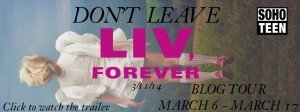 Blog Tour~ Liv, Forever by Amy Talkington (Review)