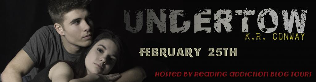 Promo Blitz! Undertow - by K.R. Conway (Excerpt + Giveaway)