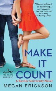 Review ~ Make it Count (Bowler University #1) by Megan Erickson