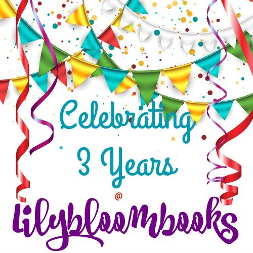 Lilybloombooks 3-Year Blogoversary!! With Announcement + #Giveaway