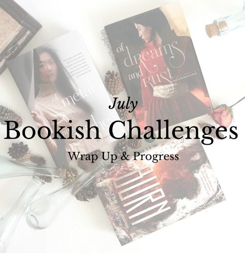 Bookish Challenges | July Wrap Up