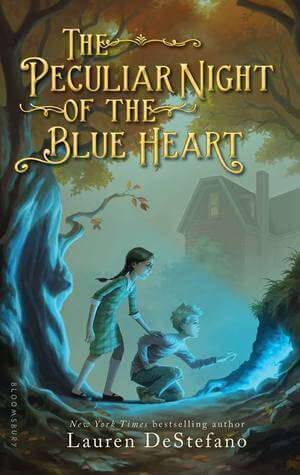 Middle Grade Madness | The Peculiar Night of the Blue Heart by Lauren DeStefano