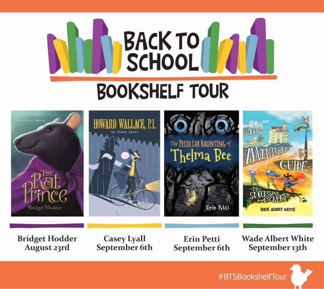 Middle Grade Madness | Second Stop on the Back to School Bookshelf Tour (Interview + #Giveaway)