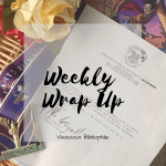 Upcoming Blogoversary // Weekly Wrap Up