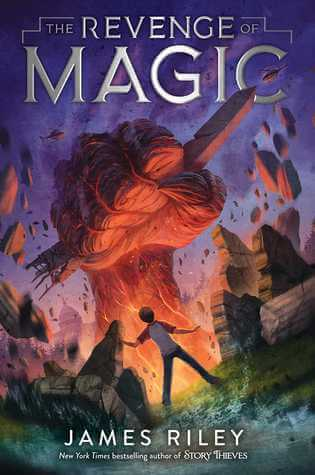 Book Spotlight // The Revenge of Magic by James Riley #Giveaway