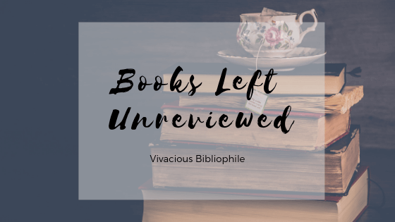Books Left Unreviewed | Issue One, Audiobooks