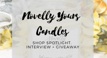 Shop Spotlight // Novelly Yours Candles
