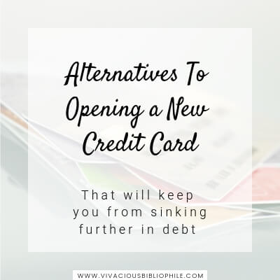 Alternatives To Opening a New Credit Card