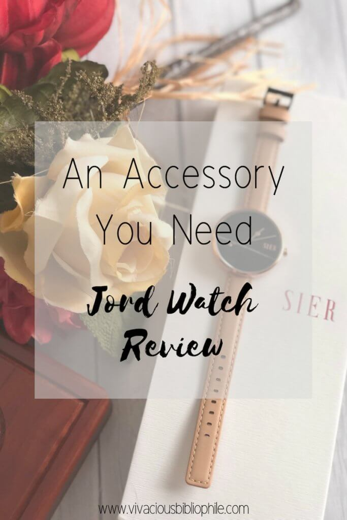 An Accessory You Need // Jord Watch Review